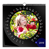 Design wall calendar classic square