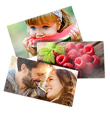 Photo stickers (set of 3)
