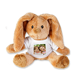Cuddly toy with photo t-shirt