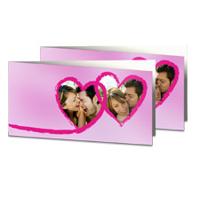 10-er Foto-Klappkarten-Set XL mit Design von Pixum