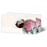 Design greeting cards long fold L