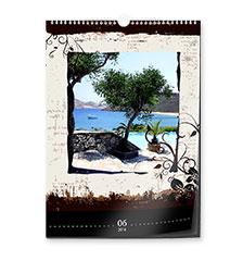 Luxe design-kalender a3